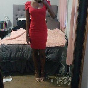 Zac Posen red dress